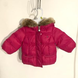 Tommy Hilfiger 6-9m puffer jacket